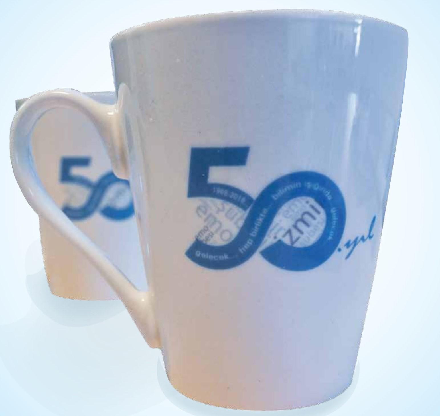 50. Yıl Hatıra Bardağı