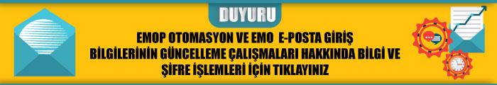 OTOMASYON VE EPOSTA DUYURUSU